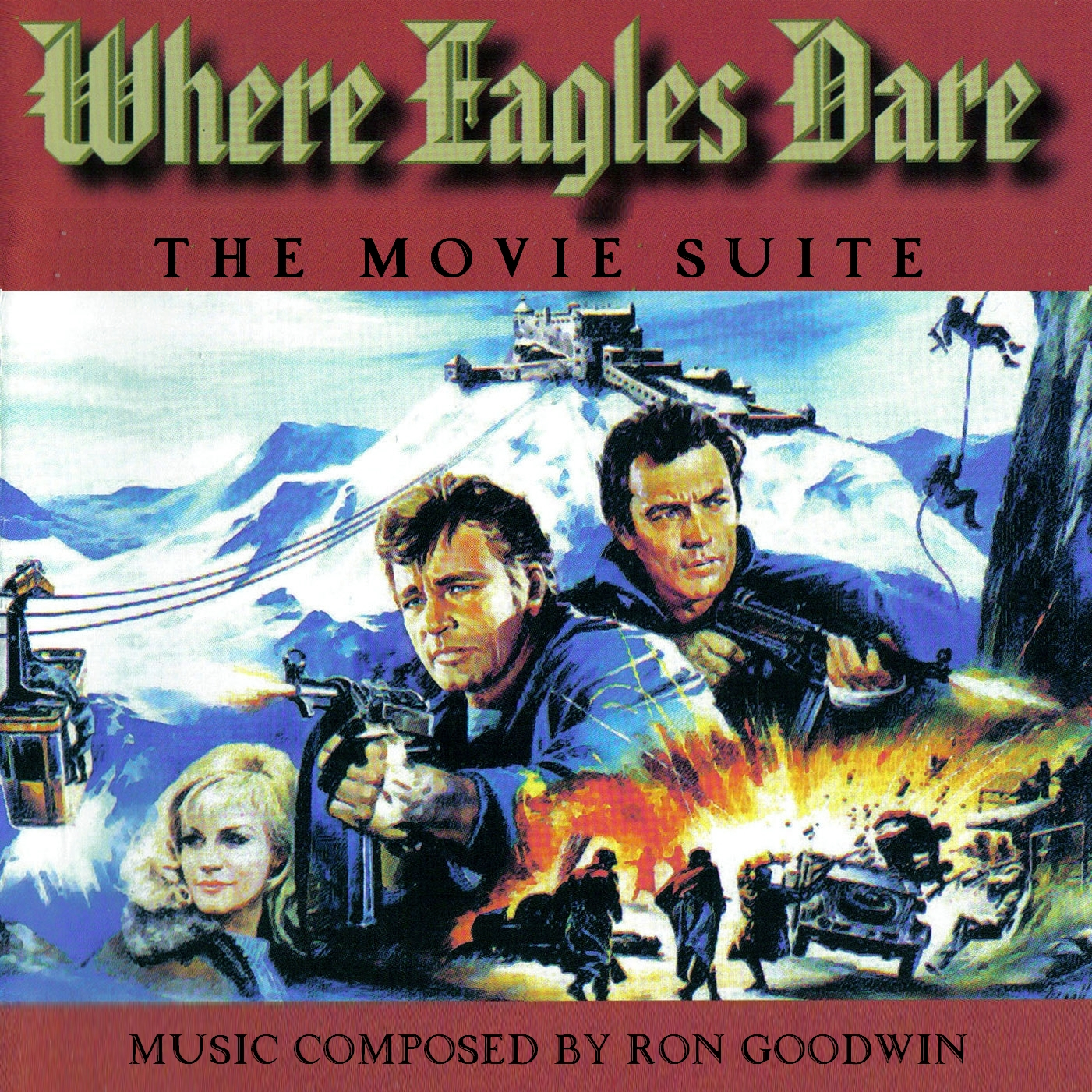 Ron Goodwin - Where Eagles Dare / Operation Crossbow