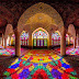 This Stunning Mosque Is Illuminated With All Of The Colors Of The Rainbow