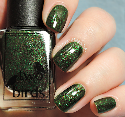 Two Birds Lacquer - Merely Moss