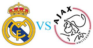 Prediksi Skor Real Madrid vs Ajax Amsterdam 05 Desember 2012