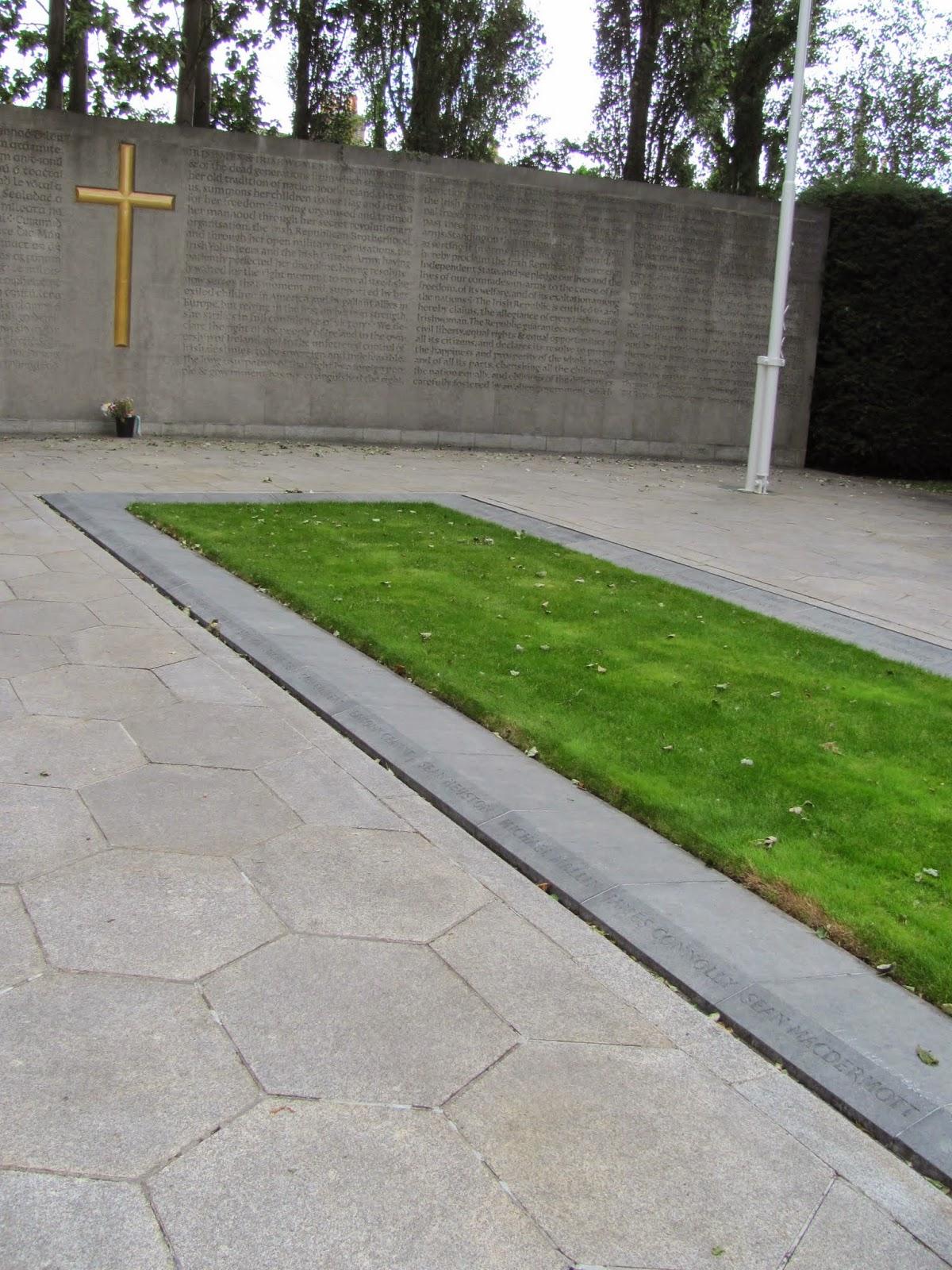 1916 Burials Arbour Hill Cemetery Dublin, Ireland