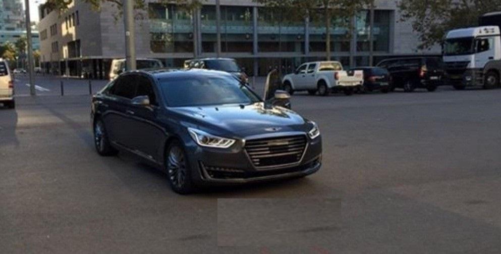 Hình ảnh xe ô tô Genesis EQ900 2015 & nội ngoại thất