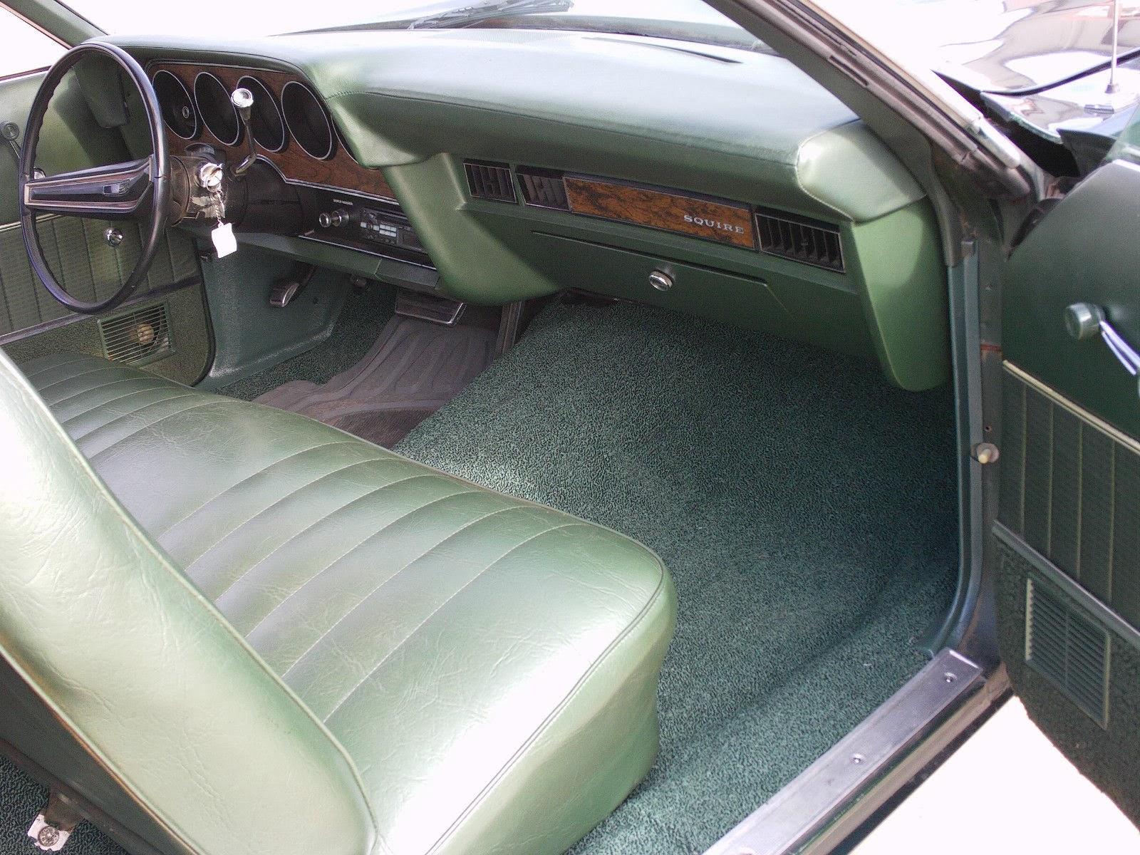 5k wood and green 1972 ford ranchero