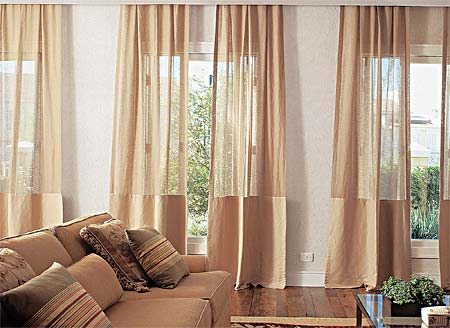 Sugest o de cortinas leves e lindas jeito de casa for Cortinas finas