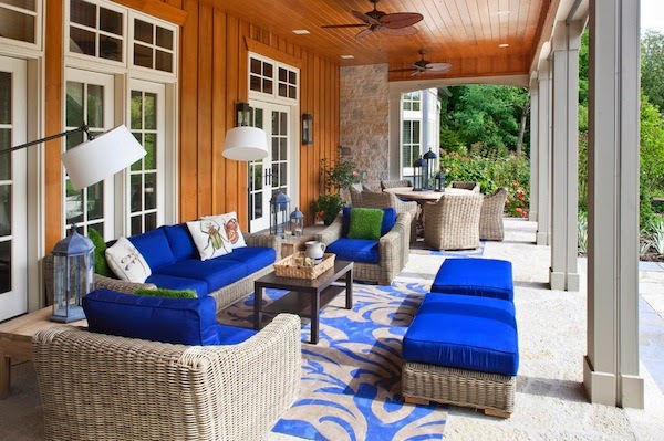 Decorate Your Outdoor Living Room, Here is Tips.