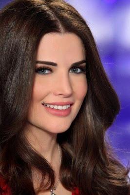 Photos renew Lebanese media Her beautiful eyes Muna Abu