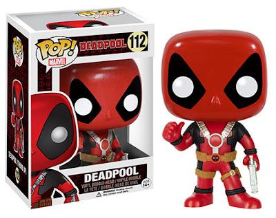 "Deadpool Pop! Marvel Vinyl Figures by Funko - ""Thumbs Up"" Deadpool"
