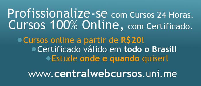 Cursos Online, Cursos 24 Horas, Cursos para Concursos