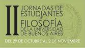 II Jornadas de Estudiantes de Filosofía