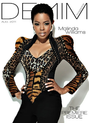 >Malinda Williams par Will Sterling pour Denim Magazine