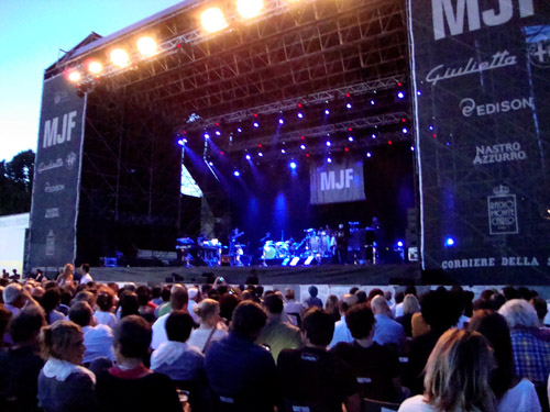 Erykah Badu live at Milano Jazzin Festival 2011, Arena di Milano