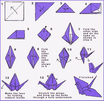origami crane instructions video