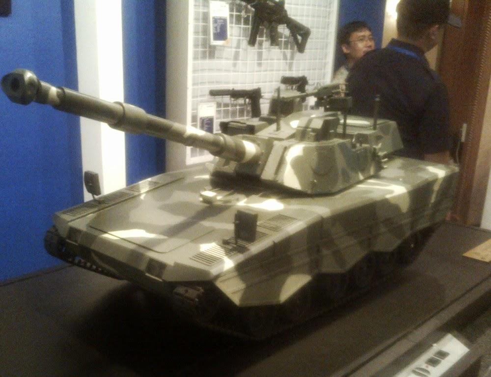 Penampakan Desain 'Tank Leopard' Buatan PT Pindad