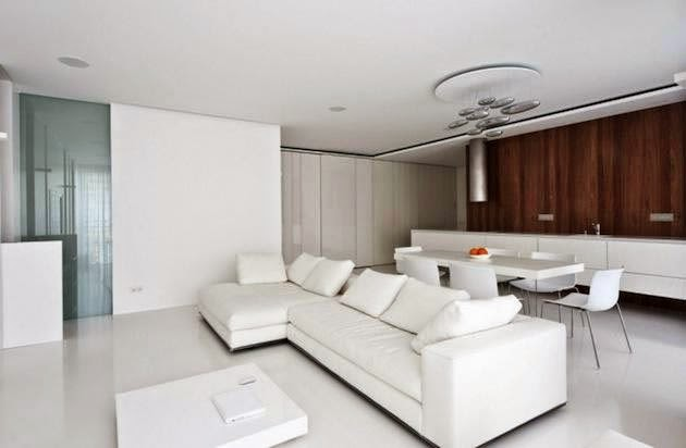 Ideas modernas para decorar en color blanco 3