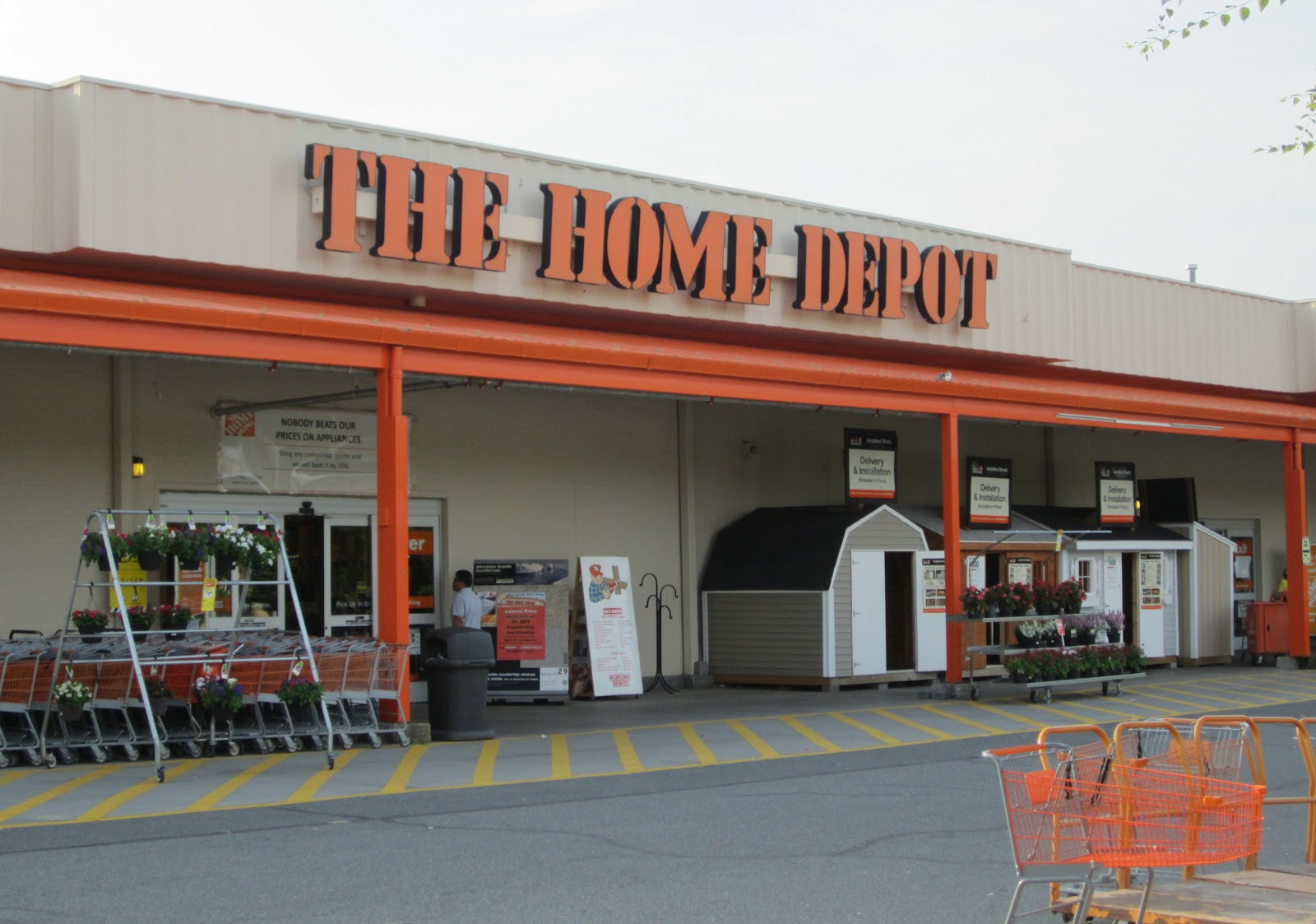 The annandale blog home depot agrees to address property for Shop home depot