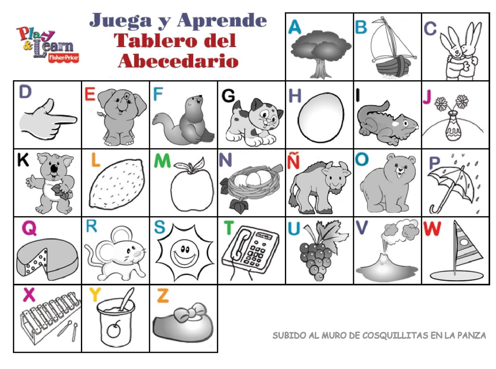 Sonidos De Las Letras Del Alfabeto En Espanol