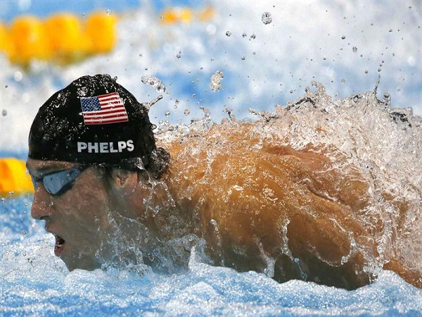historias motivadoras de deportistas Michael Phelps