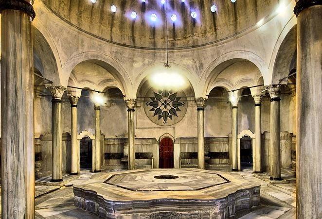 istanbulun tarihi hamamları / Cağaloğlu Hamamı