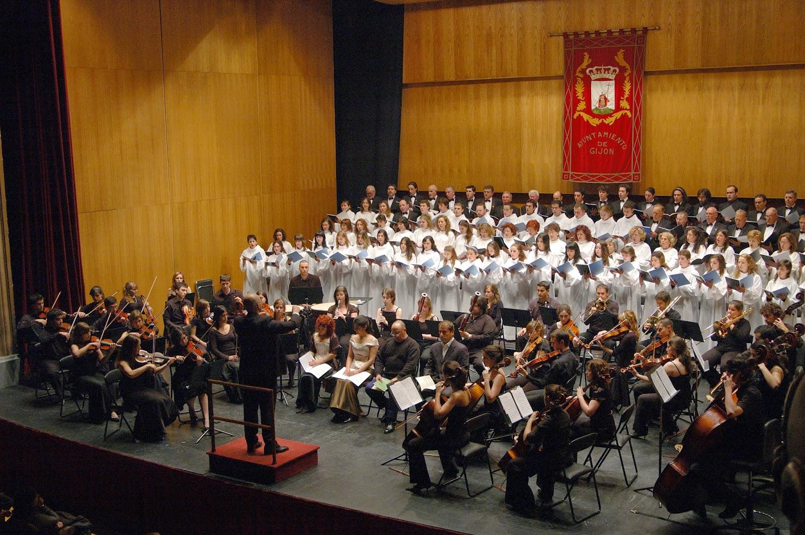 Orquesta sinf nica del conservatorio de gij n la orquesta - Conservatorio musica bilbao ...