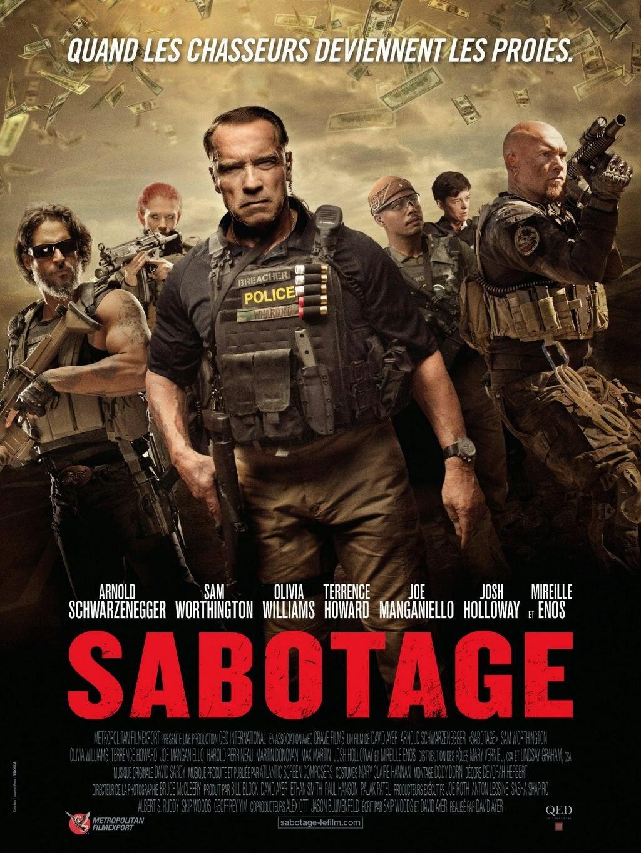 """Max Martini: Nuevo poster HQ de """"Sabotage"""""""