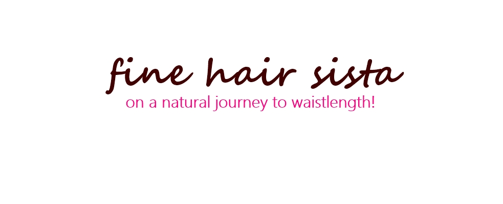 Fine Hair Sista