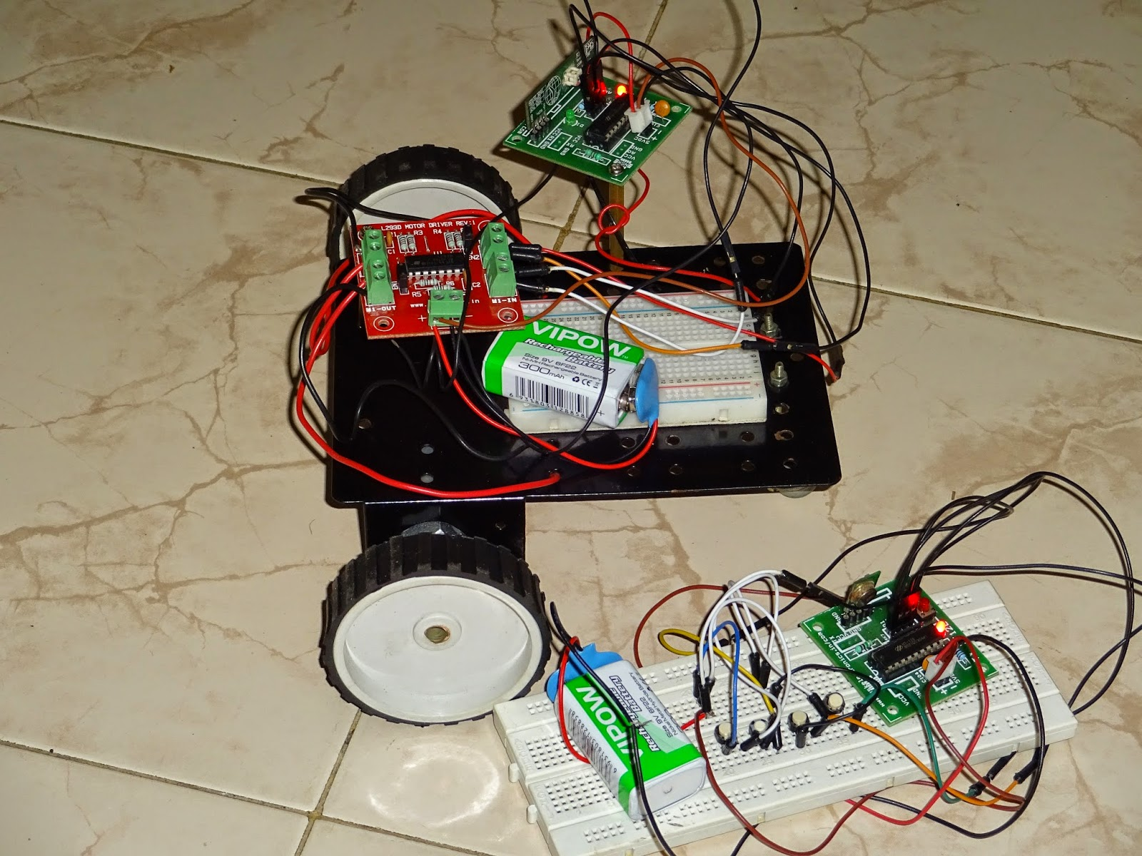 How To Make A Wireless Robot Without Microcontroller Robots Robotics Wiring Diagram Check This Page For Circuit Its Simply Plug And Play Type Bot No Need The If You Still Want