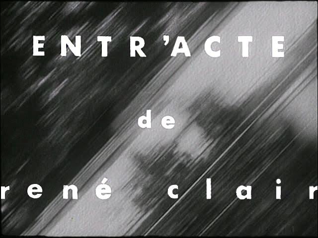 Entr'acte. Entreacto. (1924). Rene Clair