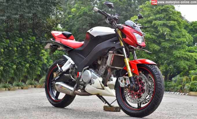 Modifikasi Yamaha New V-ixion Lightning ala Yamaha YZF-R6 2014