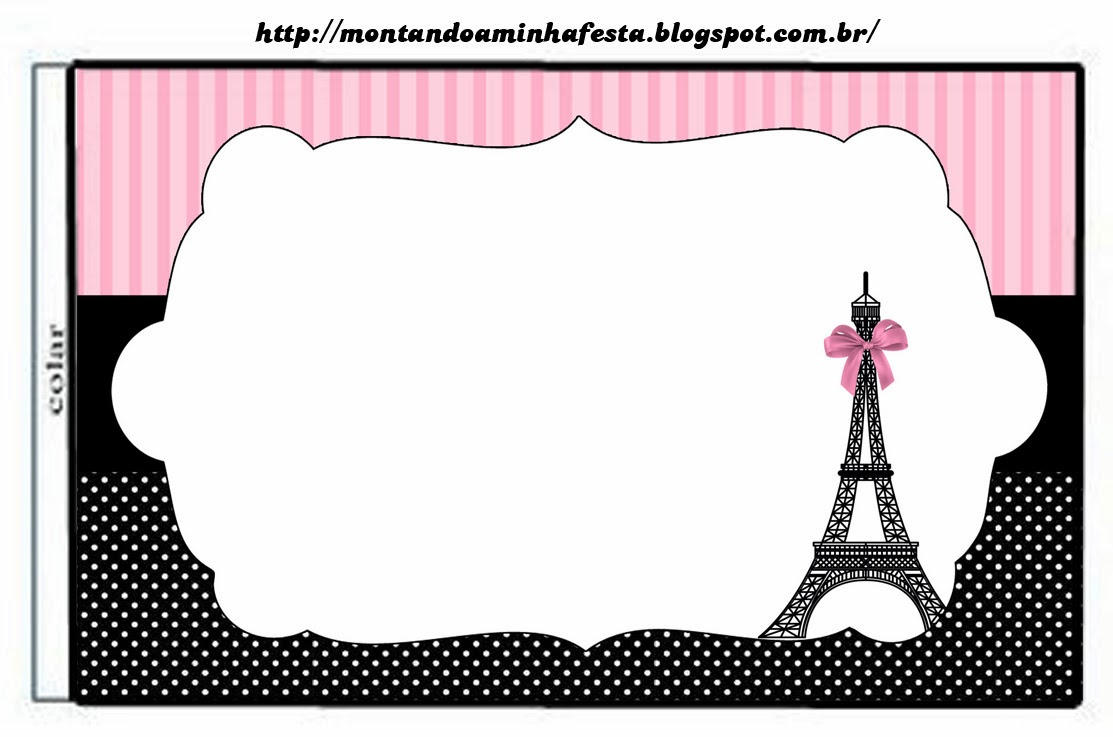 paris party chocolate wrapper paris free printable toppers paris free ...