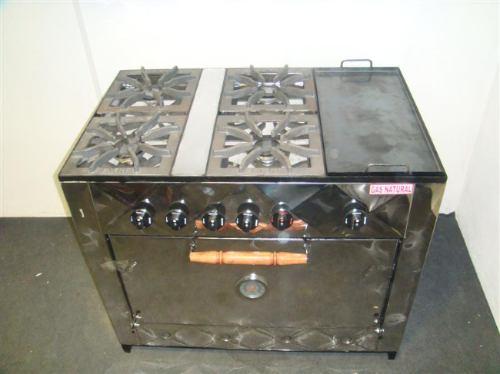 Cocina industrial con plancha for Estructura de una cocina industrial