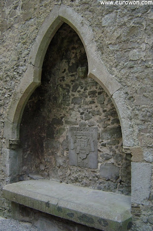 Detalle de la catedral de la Roca de Cashel
