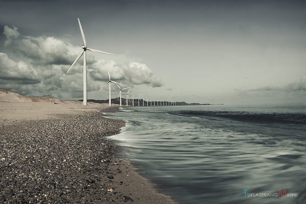 First power generating wind farm in the Philippines and Southeast Asia