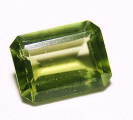 Olive Green Gemstone , Peridot