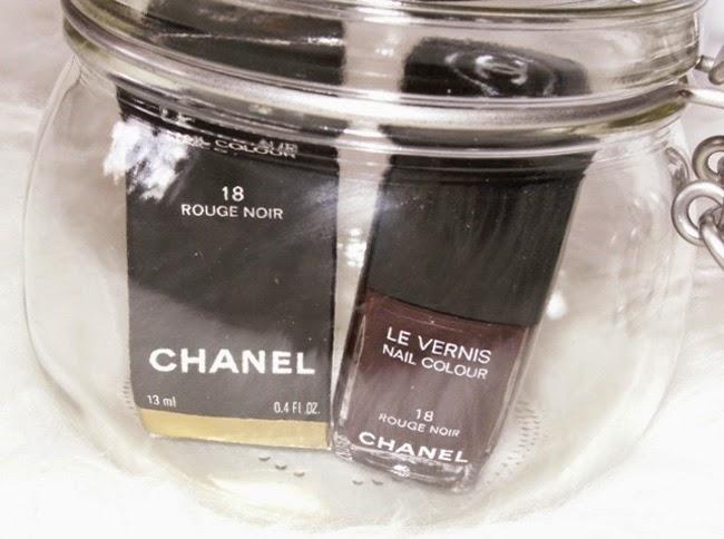 """Chanel Le Vernis """"Rouge Noir"""""""