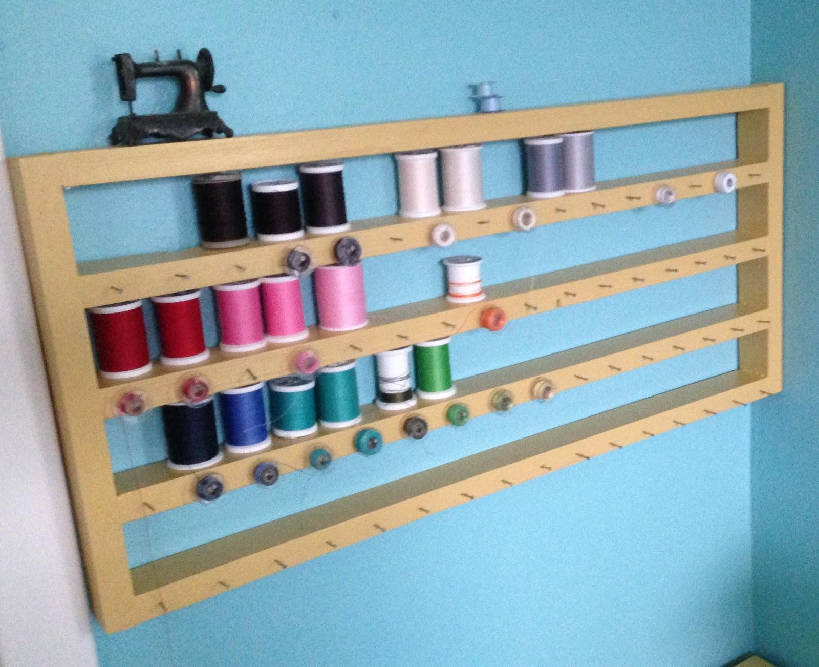 The Oxford Family: DIY Thread Rack Tutorial