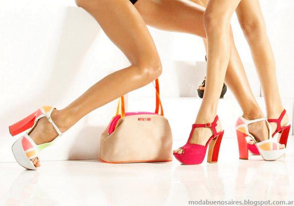 Ricky Sarkany primavera verano 2013. Zapatos moda 2013.