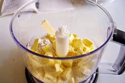 Torta salata agretti e gorgonzola 1