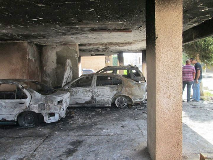 فيديو للسيارات النى تم حرقها فى العاشر من رمضان