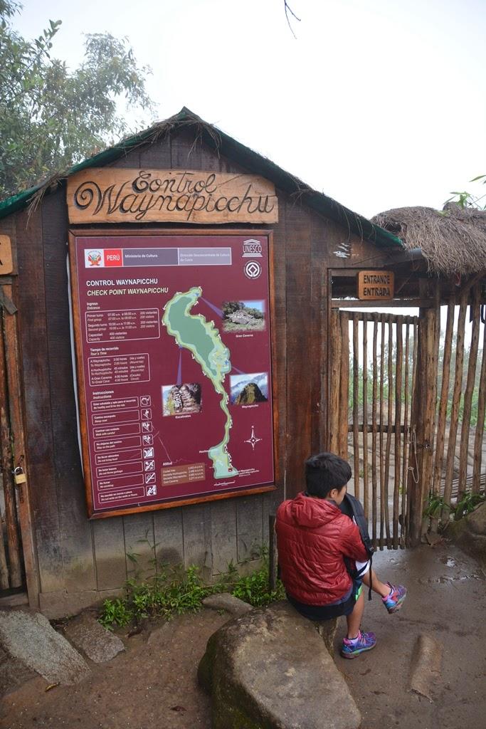 Waynapicchu entrance