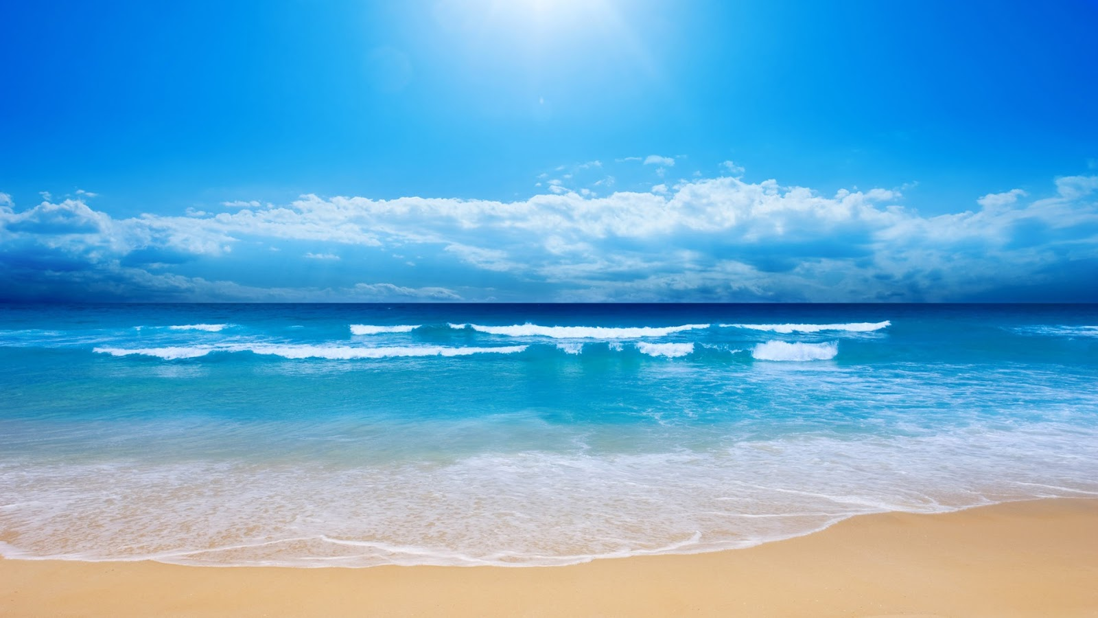 Blue Ocean Sea