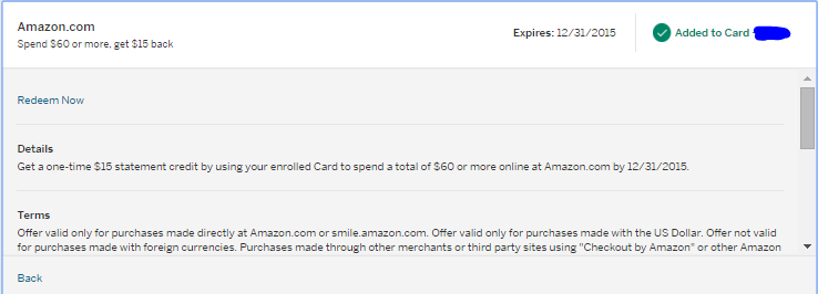 Oren's Money Saver: $15 off $60 at Amazon with New American ...