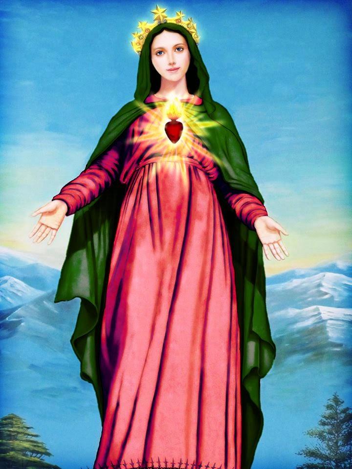 Populares Nossa Senhora do Imediato Consolo: Mensagem de Maria Santíssima  AM64