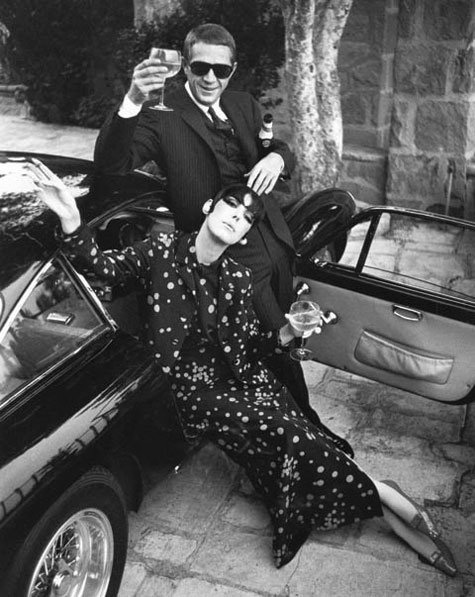 Steve mcqueen and peggy moffit