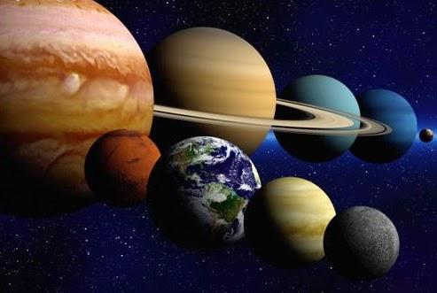 Componentes del sistema solar mundo geograf a for En 1761 se descubrio la de venus