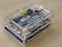 Banana pi in my case with a 2.5inch drive bay