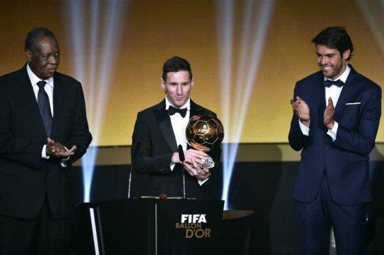 Lionel Messi a remporté le Ballon d'Or pour sa cinquième fois