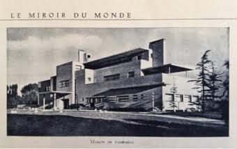 La Villa Cavrois dans les revues de l'époque