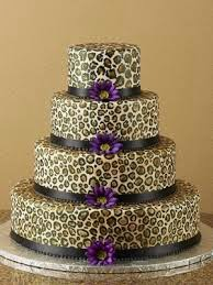 How To Make A Leopard Print Birthday Cake