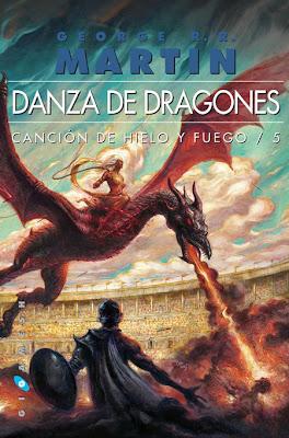 portada Danza de Dragones - Juego de Tronos en los siete reinos.