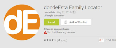 dondeEsta Family Locator Aplikasi Pelacak No HP Android